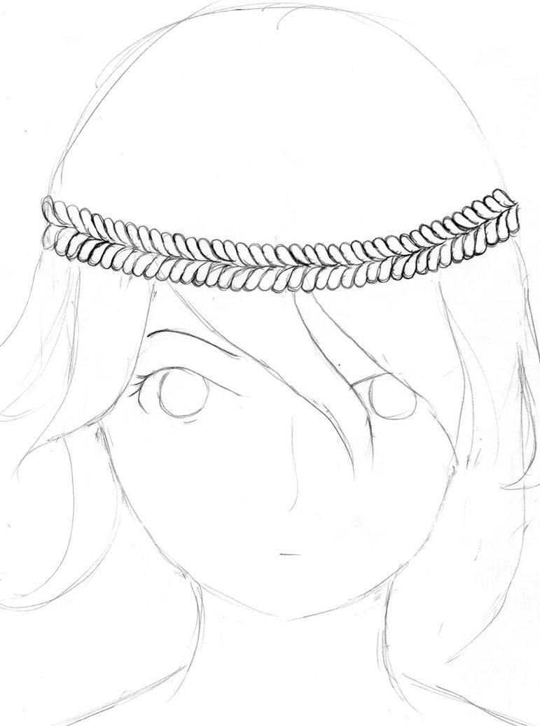 771x1037 Flower Crown Girl By Bloodhunter99