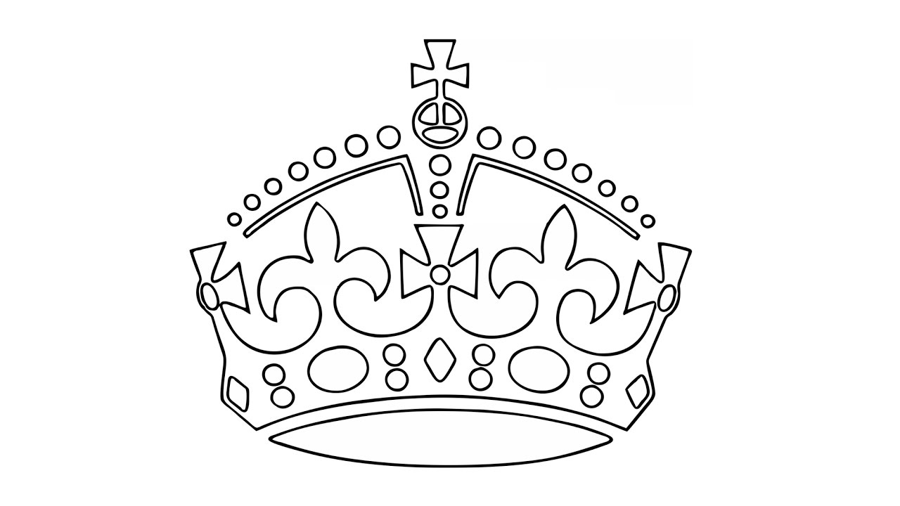 1280x720 How To Draw A King's Crown (Easy)