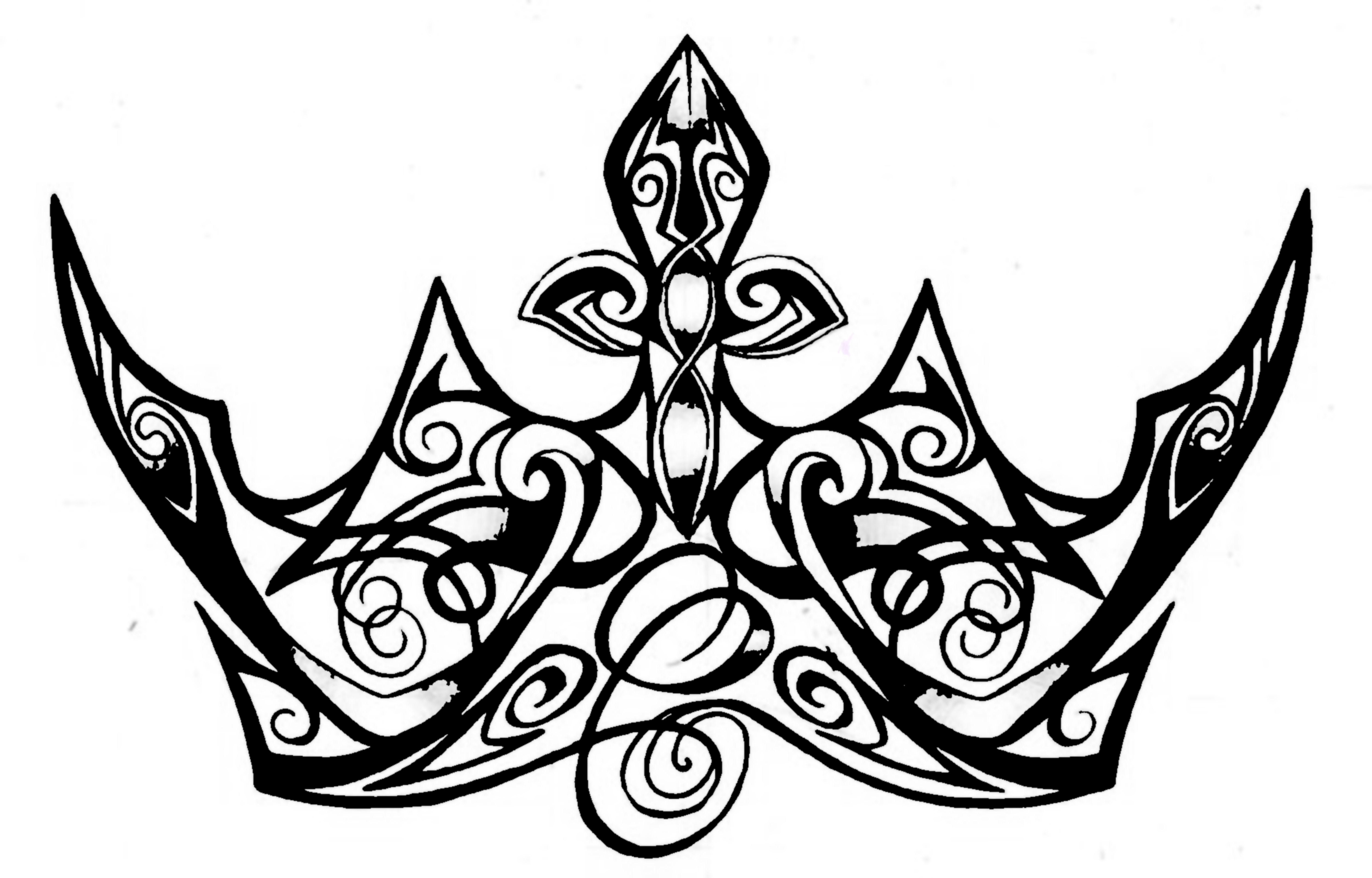 5955x3812 Queen Crown Drawing Free Download Clip Art Free Clip Art