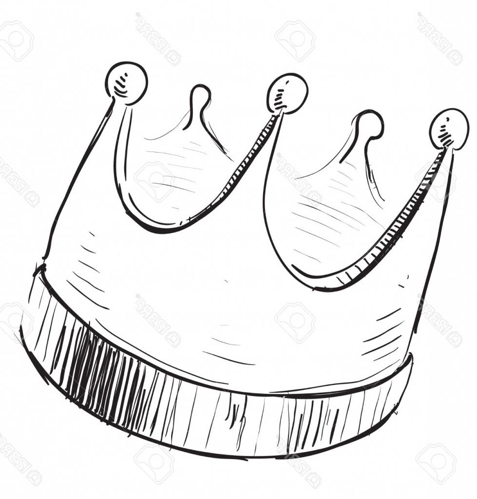 979x1024 Simple Crown Drawing Group