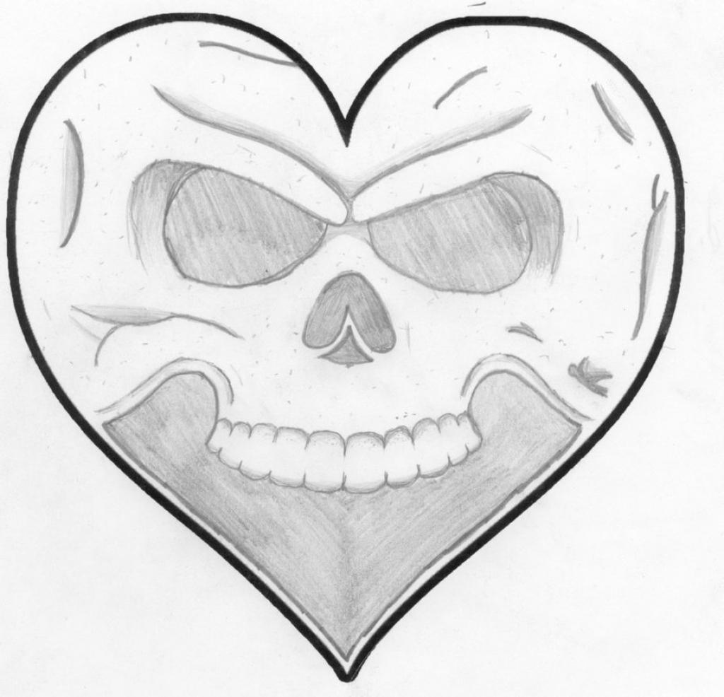 1024x986 Drawings Hearts