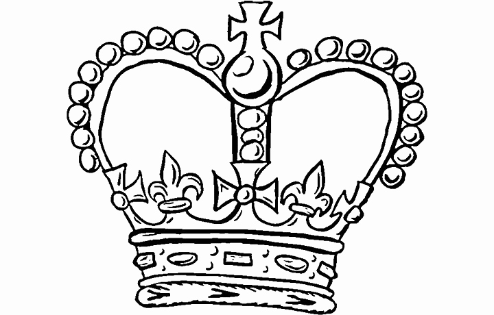 720x460 45 Luxury Pics Of Crown Coloring Page