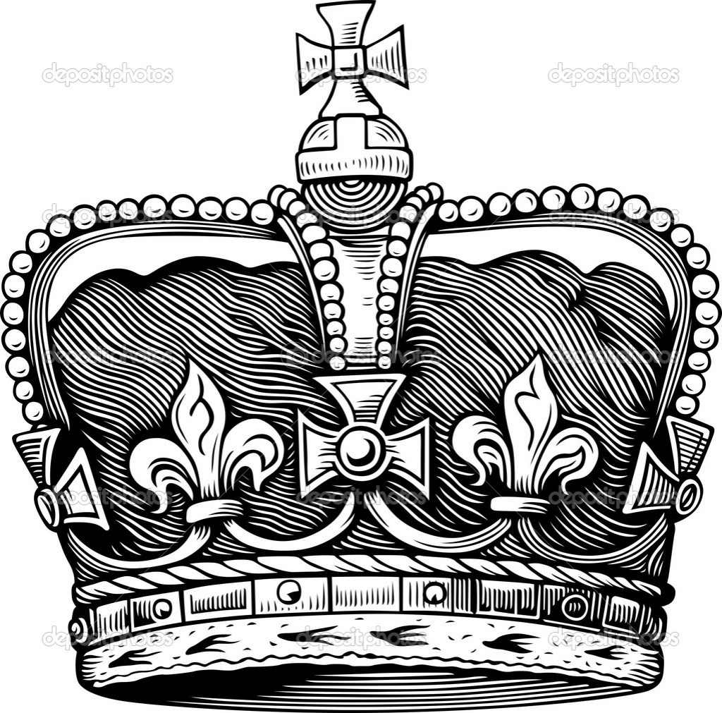1024x1011 King Crown Drawing Drawings Of King Crowns Clipart Best