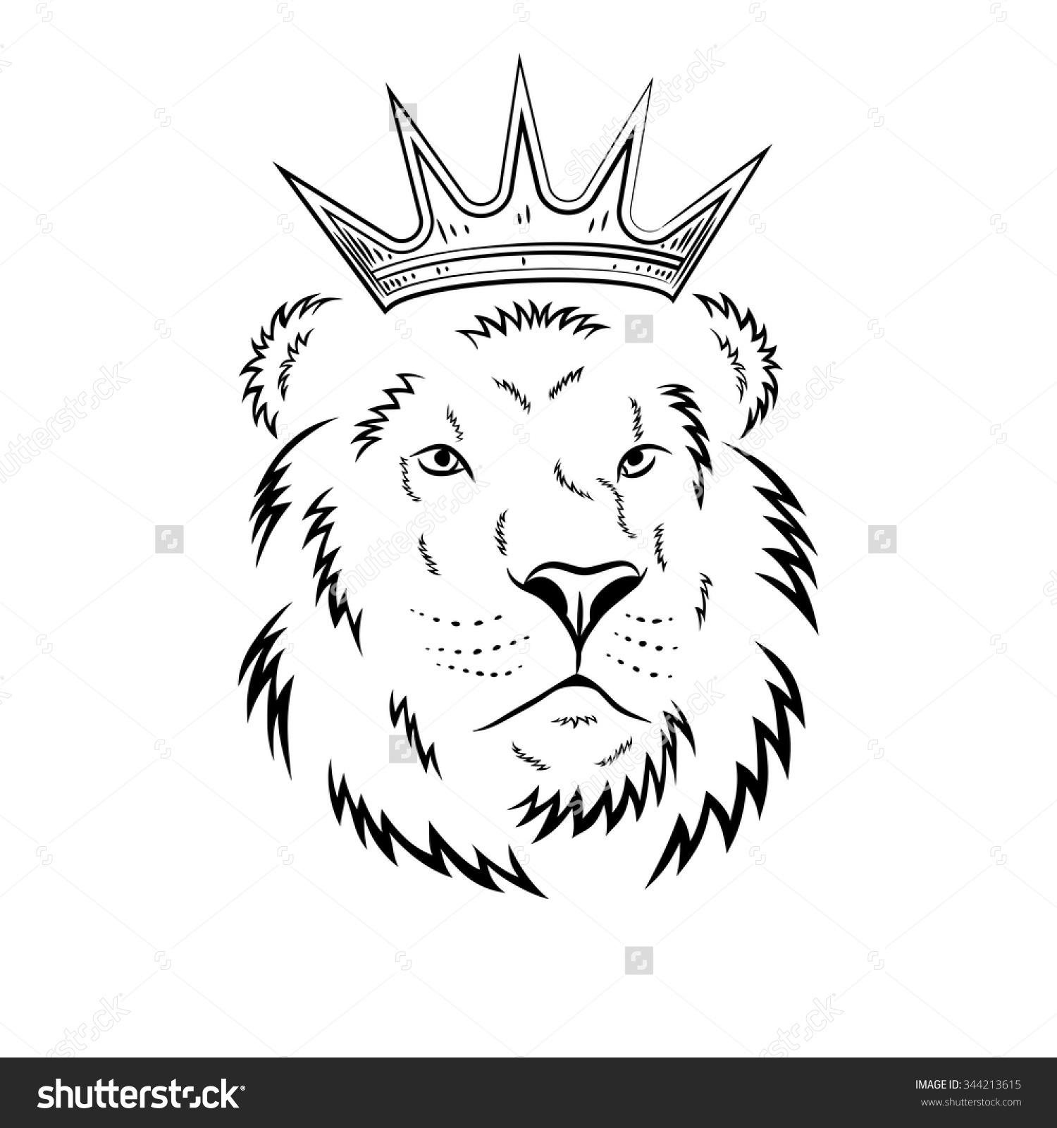 1500x1600 Lion With Crown Drawing 82 Famous Lion Tattoo Design Sketches