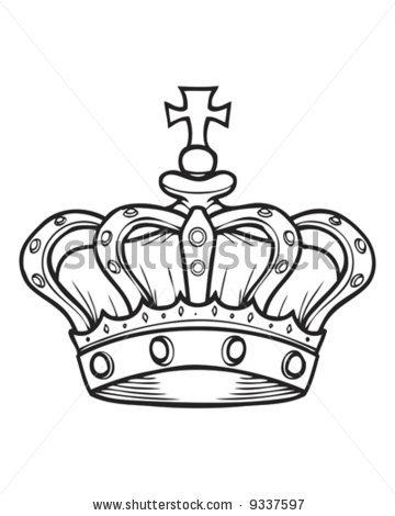 360x470 Nice Crown Tattoo Sample Coroas Tattoo, King Crown