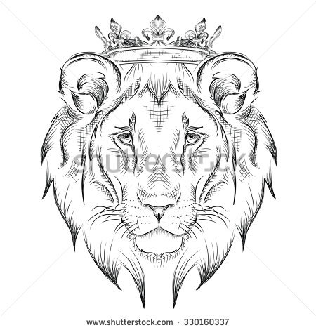 450x470 Lion King Tattoo