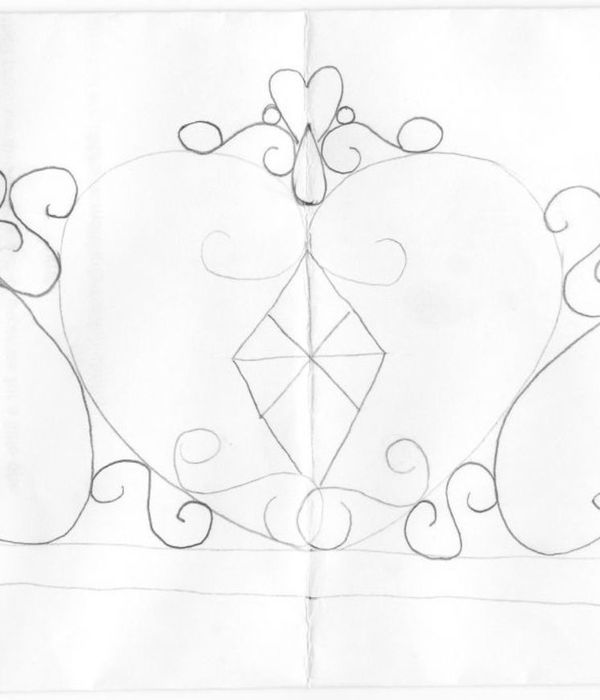 Crown Drawing Template