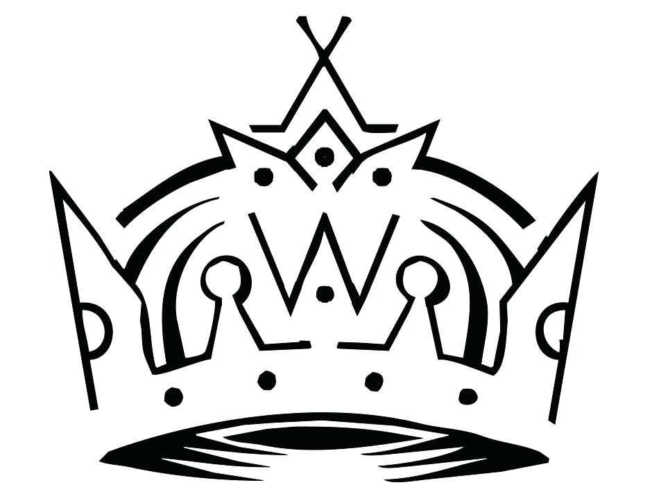 940x726 King Crown Coloring Page La Kings Coloring Pages Kings Crown