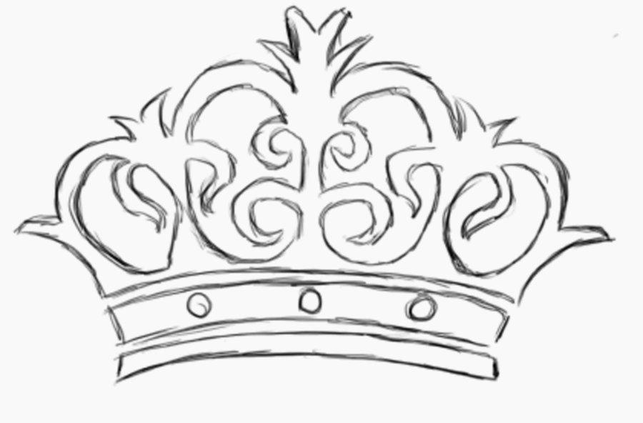 900x592 Crown Drawing Tumblr