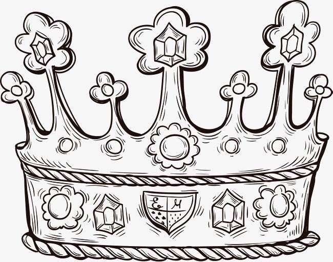 650x512 Little Flower Crown, Vector Material, Crown, Flowers Crown Png