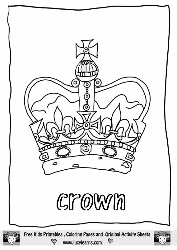 569x800 Crown Jewels Coloring Page Crown Jewels Coloring Sticky Note