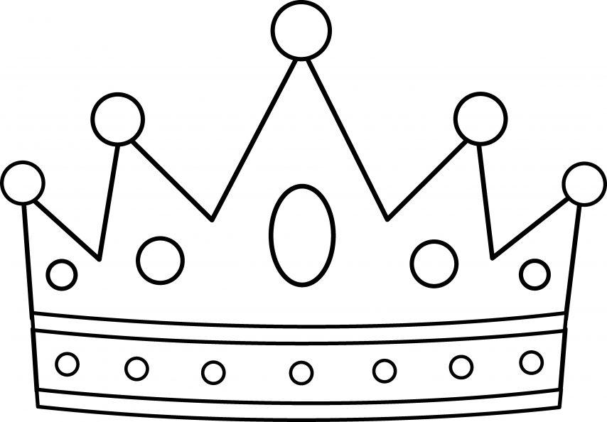 854x594 Easy To Color Purim Crown Jewels Coloring Sheet Tiara Colori
