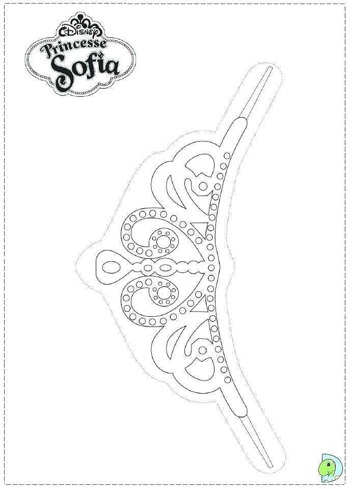 691x960 Great Coloring Pages Of Crowns Image Crown Page Jewels Free