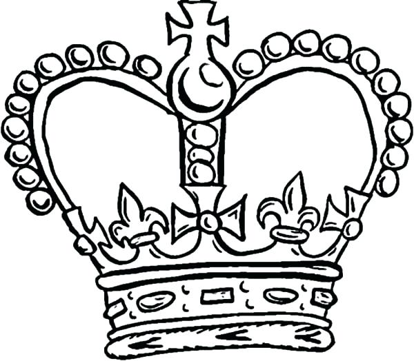 600x524 Here Are Crown Coloring Page Pictures Pope Crown Coloring Pages