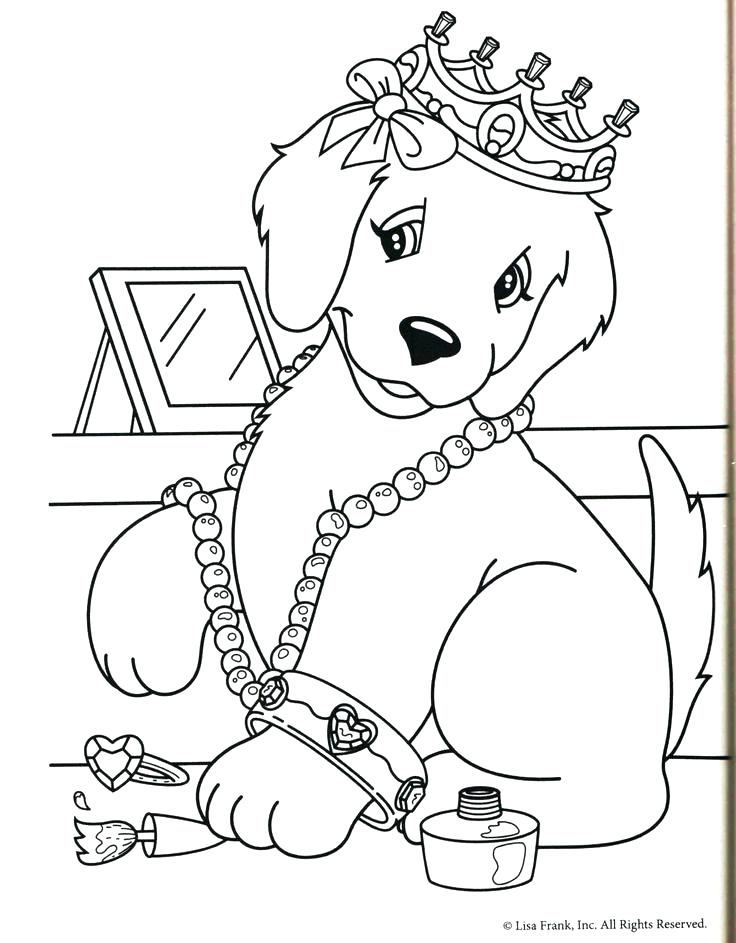 736x943 Coloring Pages Draw A Puppy Coloring Pages Free Printable Animals