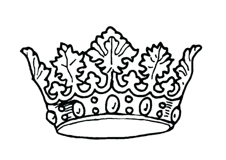 736x521 Crowns Queens Coloring Pages Free Queen Crown Stencil