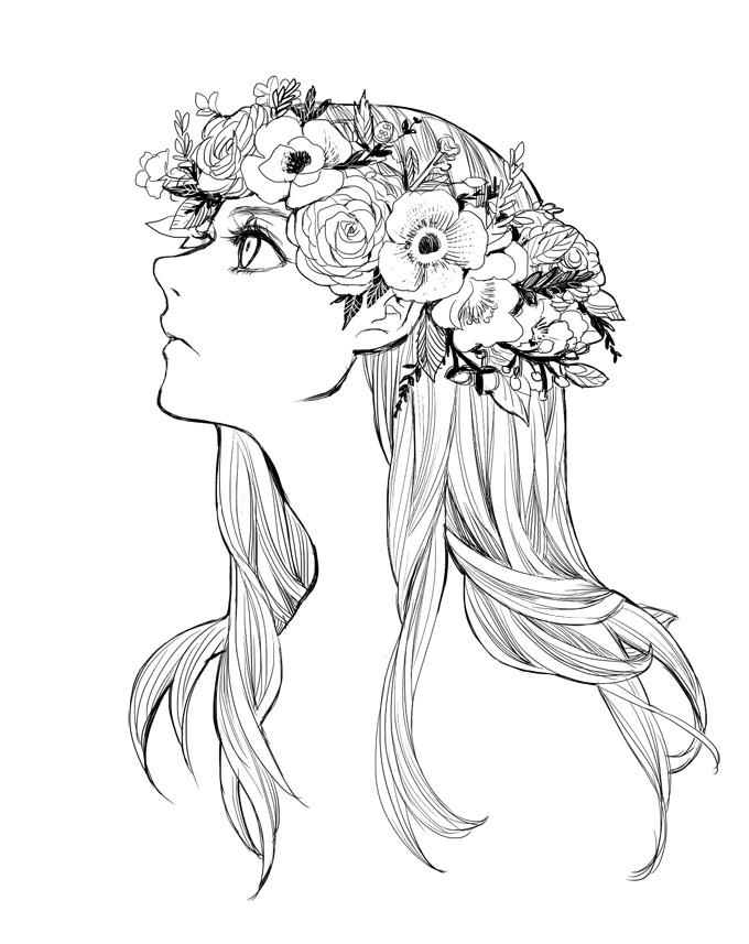 680x857 Drawn Crown Anime