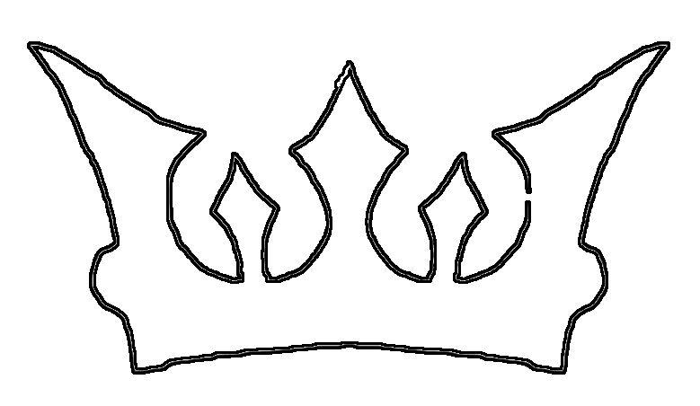 779x452 Princess Crown Line Drawing