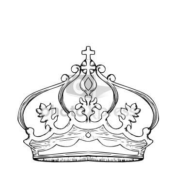 361x400 Queen Crown