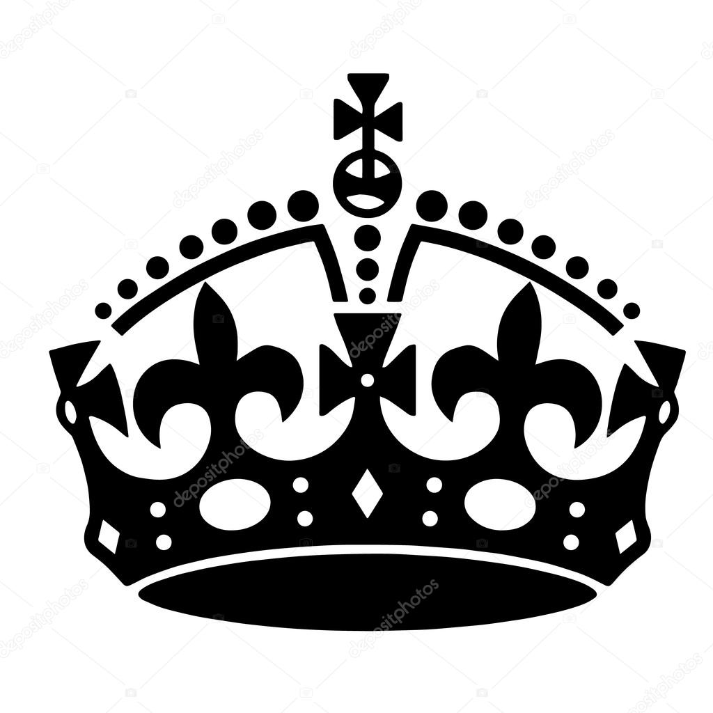 1024x1024 Crown Tattoo Vector Stock Vector Klowreed