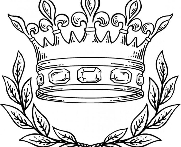 736x600 Download Simple King Crown Tattoo Designs