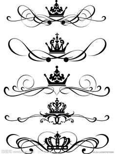 236x316 Flowers Crown Tattoo Designs For Girls