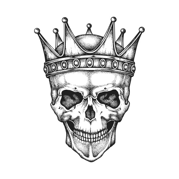 630x630 King Skull In A Crown