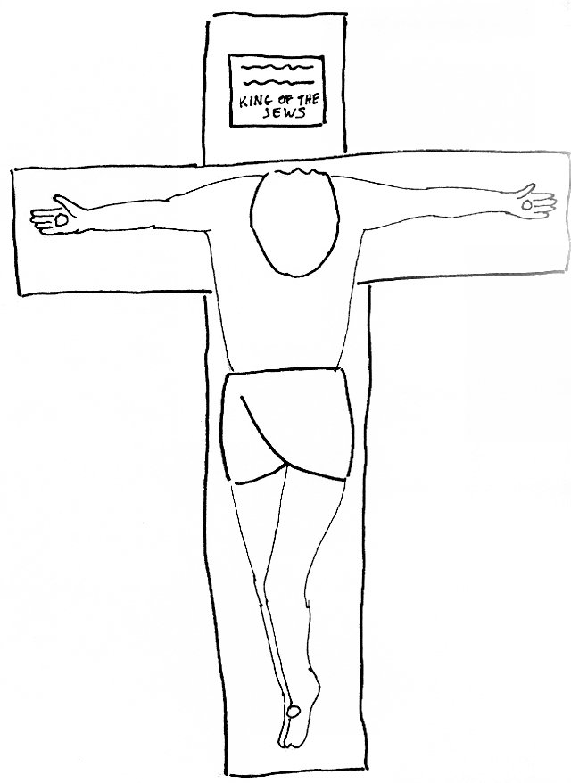 640x878 Bible Story Coloring Page For The Crucifixion Of Lord Jesus