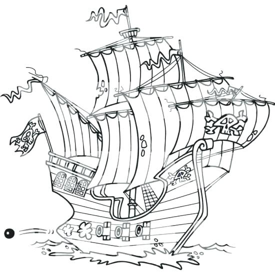 550x561 Cruise Ship Coloring Pages Ships Coloring Pages Viking Ship