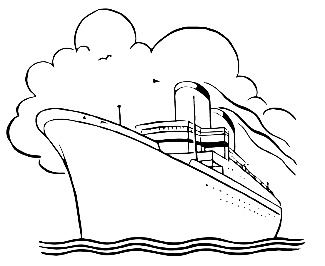 1105x905 Free Vector Art Cruise Ship Images From