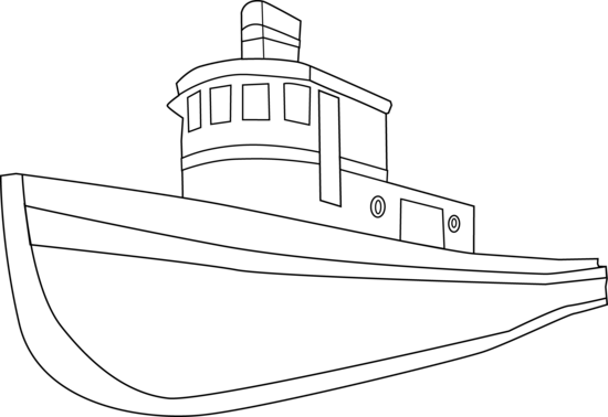 550x378 Ship Outline Drawing Pirate