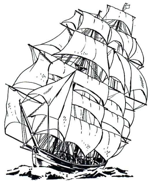 520x628 Best Of Ship Coloring Pages Images