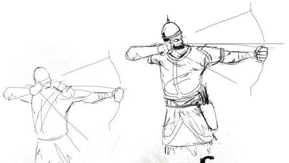 Crusader Drawing