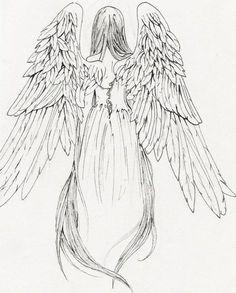 236x293 Fallen Angel Wings Drawing Fallen Angel Sketch By