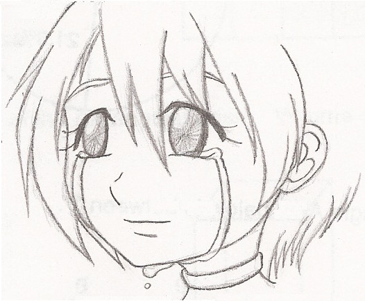 526x435 How To Draw A Girl Crying Pictures To Pin