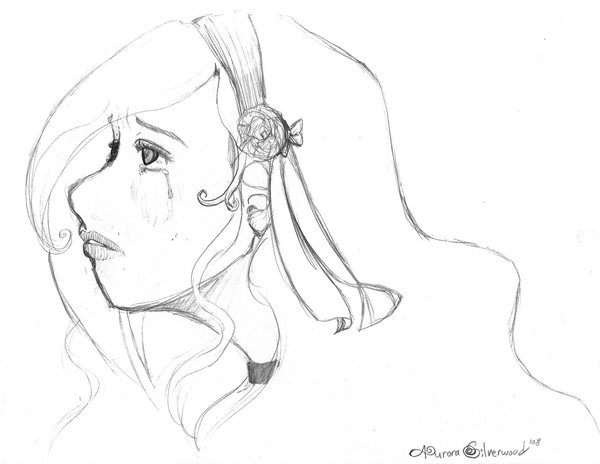 600x464 Aura Crying Sketch By Yoakenoookami