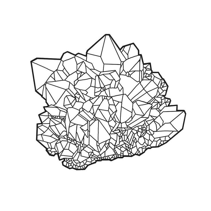 736x736 Image Result For Crystal Line Drawing The Encyclopedia Of Human