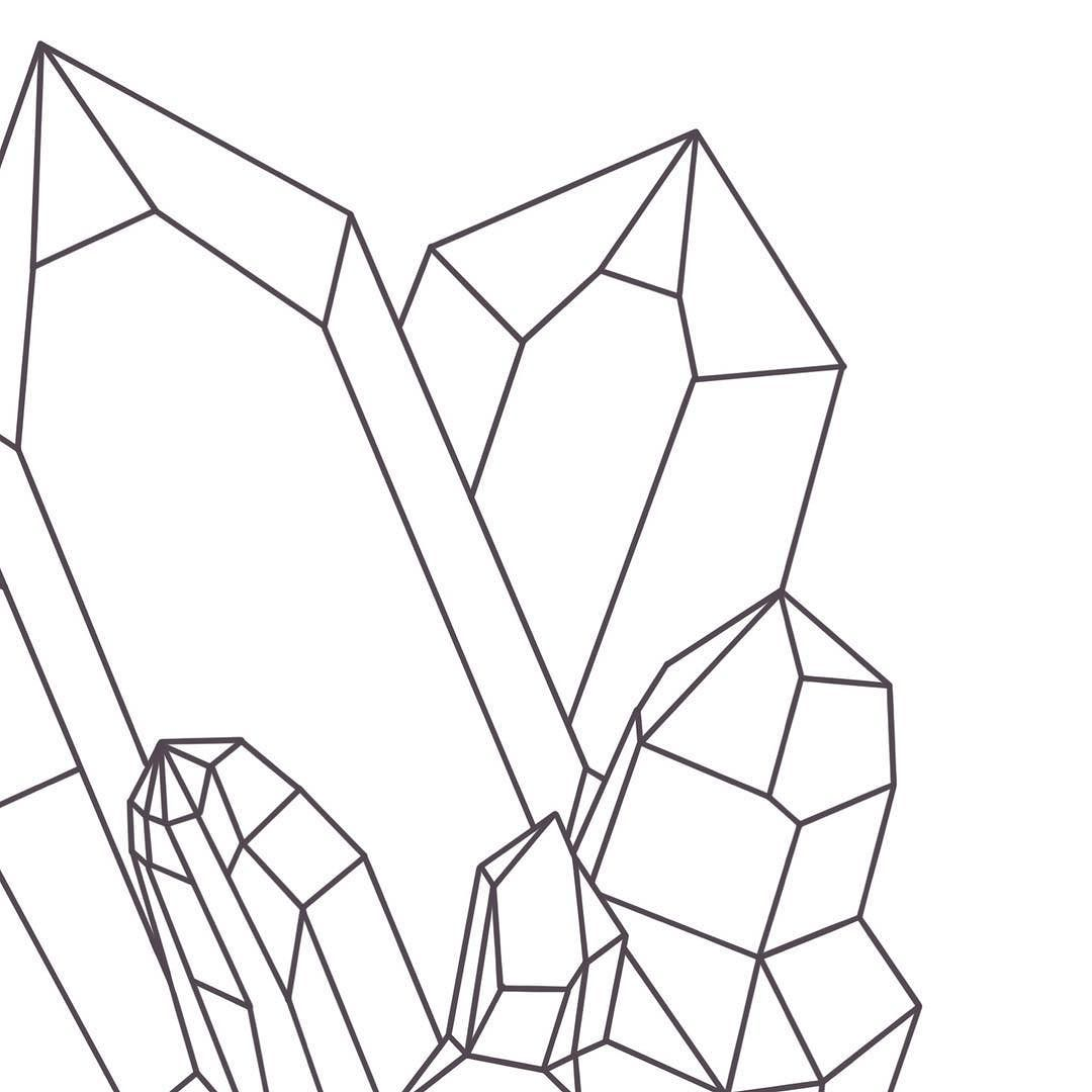 1080x1080 Sketching Away The Outline For The Next Crystal Cluster! Keep Your