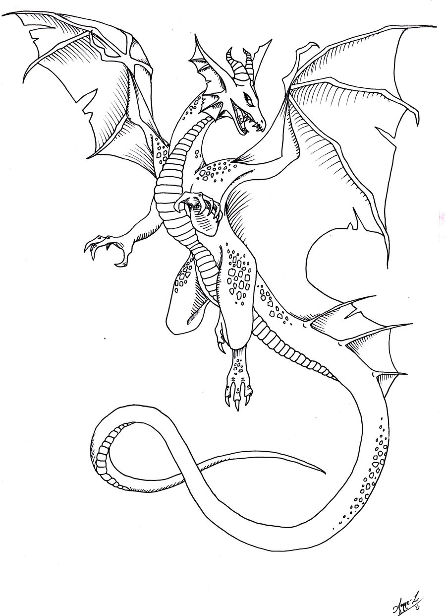 900x1241 Dragon Tattoo By Ocean Crystal