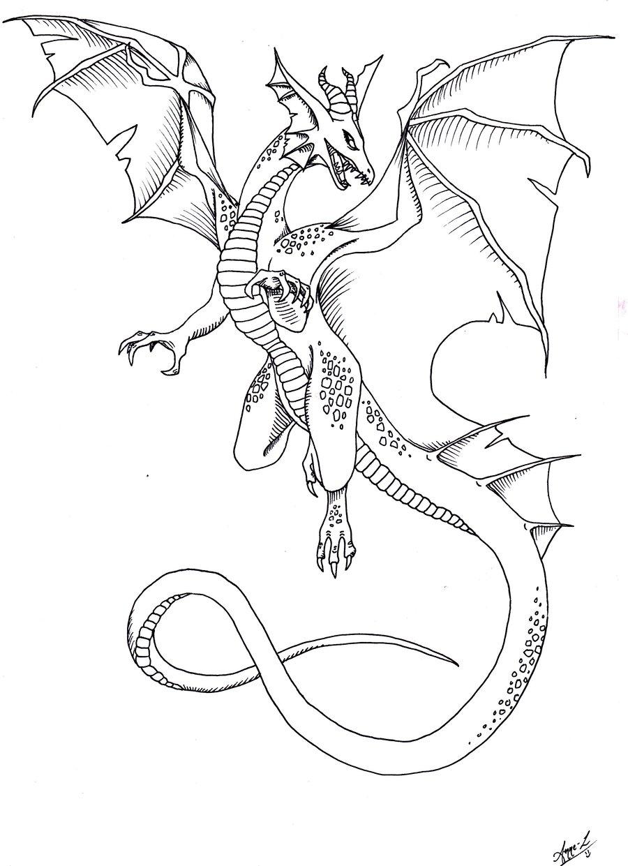 900x1241 Dragon tattoo by ocean crystal on DeviantArt