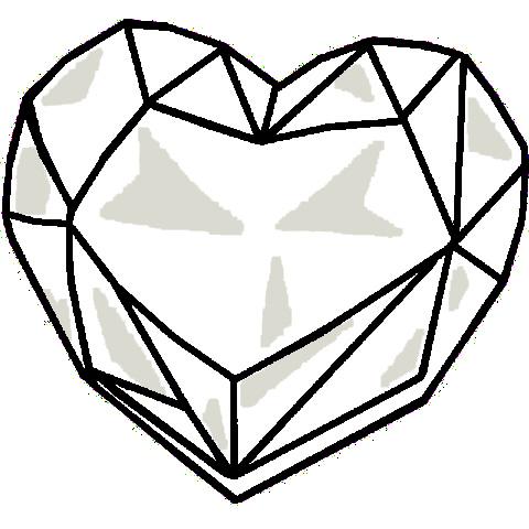 480x480 Heart Crystal Base By Sasami87