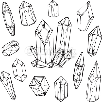 414x416 Image result for geometric crystal Crystal Watercolor Pinterest