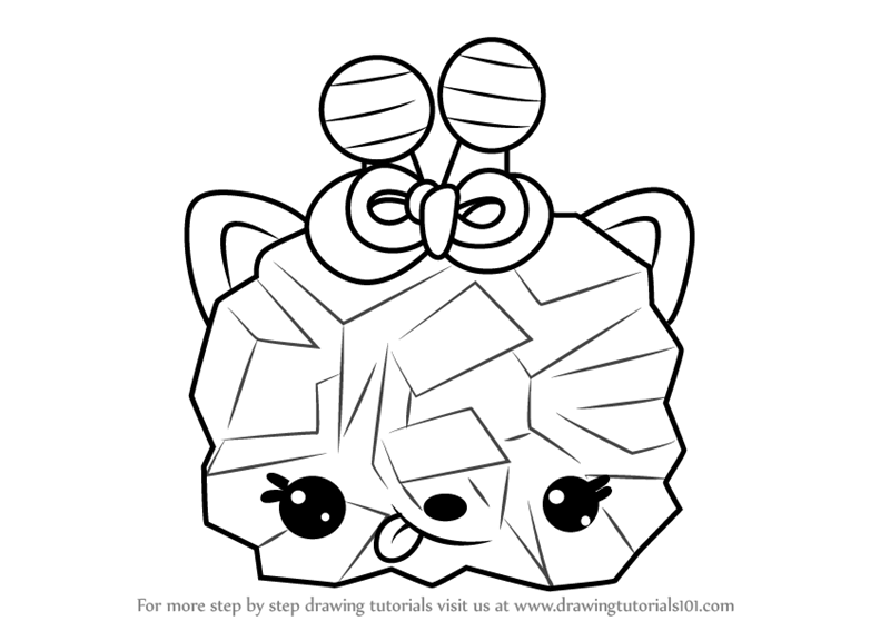 800x567 Learn How to Draw Crystal W. Berry from Num Noms (Num Noms) Step