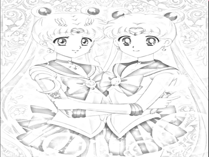 800x600 Sailor Moon Crystal And Original Versions. By Priparaprecurealex24