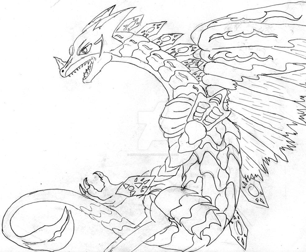 985x812 The Nameless Dragon By Crystal Rain Fox