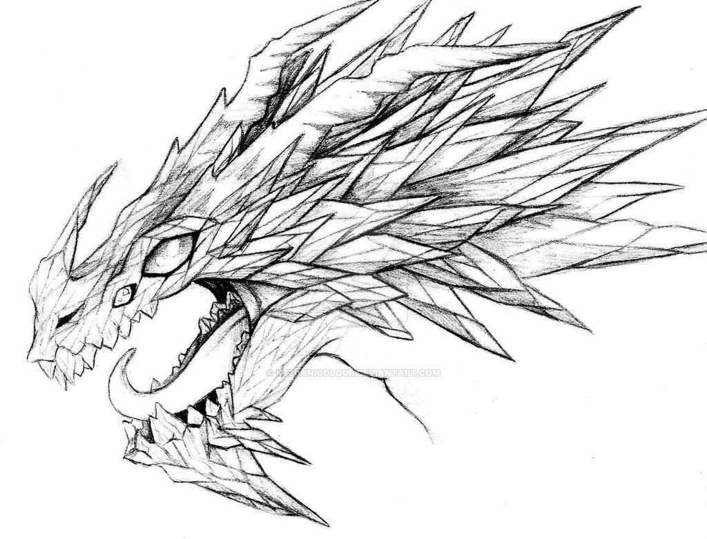 1024x781 Crystal Shard Dragon by KTechnicolour on DeviantArt