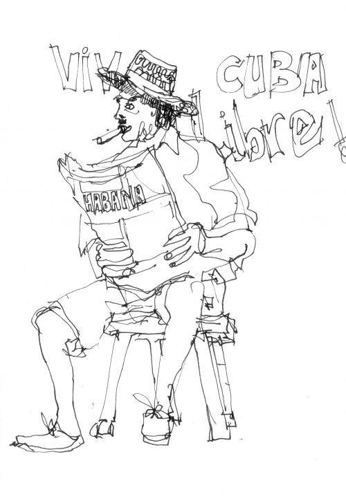 Cuba Drawing