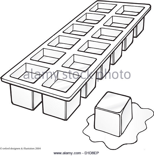 533x540 Ice Cube Tray Freezer Stock Photos Amp Ice Cube Tray Freezer Stock
