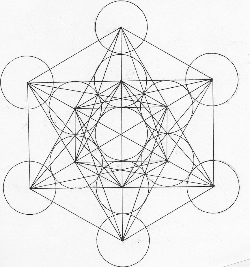 866x923 Metatron's Cube Lt3 Minerals Cube, Mandala And Drawings