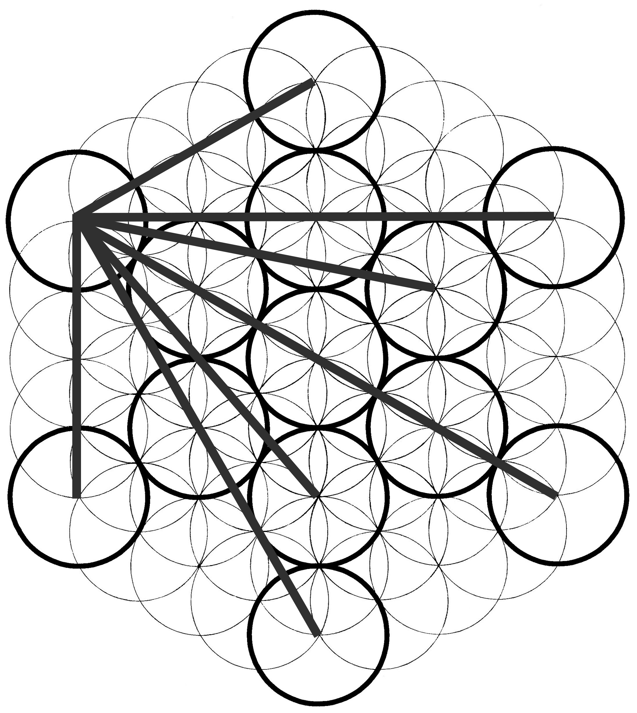 2194x2454 Metatron's Cube How To Draw Cube, Drawing Techniques